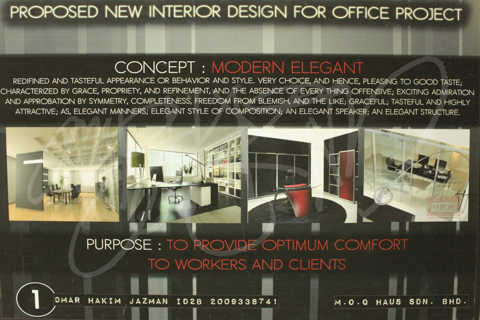 Learning Future Interior Designer: Office Design, Moqhaus Sdn Bhd