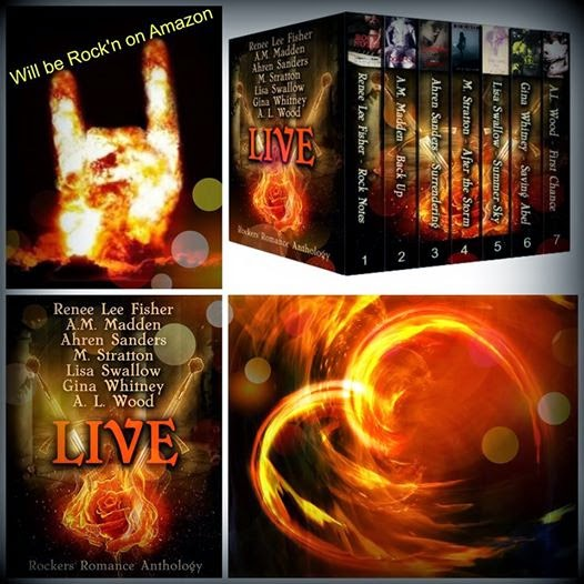 Stephanie's Book Reports - Live- Rocker Romance Anthology Release