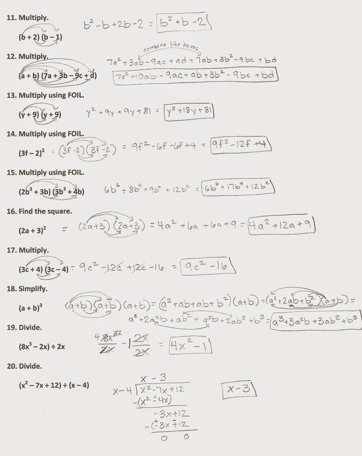 Algebra Alerts Algebra 1 And 2 Algebra 1 Chapter 9