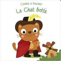 Contes à toucher - le chat botté - Editions TAM TAM