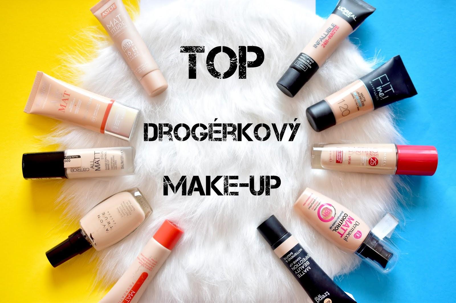 Najlepší makeup  drogérie
