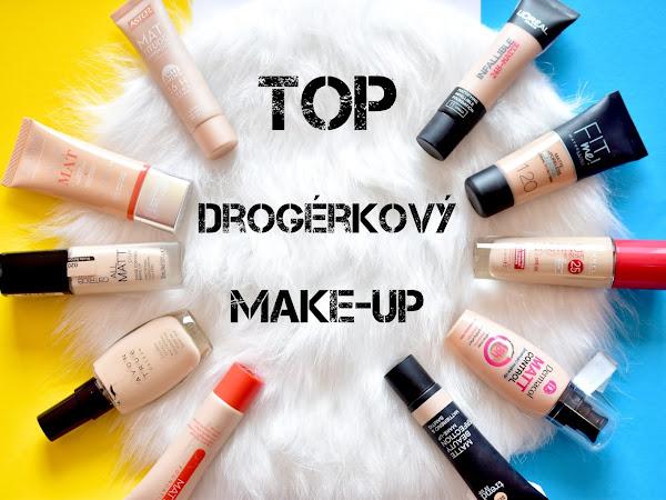 Najlepší drogérkový makeup na mastnú pleť