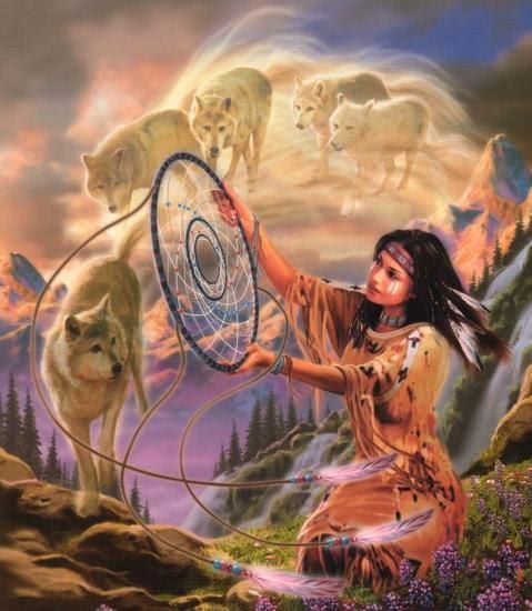White Buffalo Calf Woman: Wolf Warriors Of The Rainbow