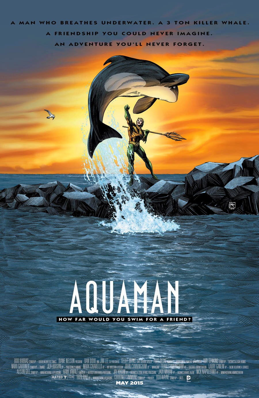 Aquaman / Free Willy