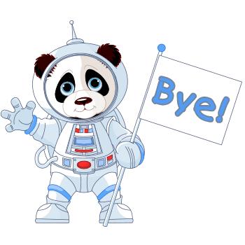 Bye panda