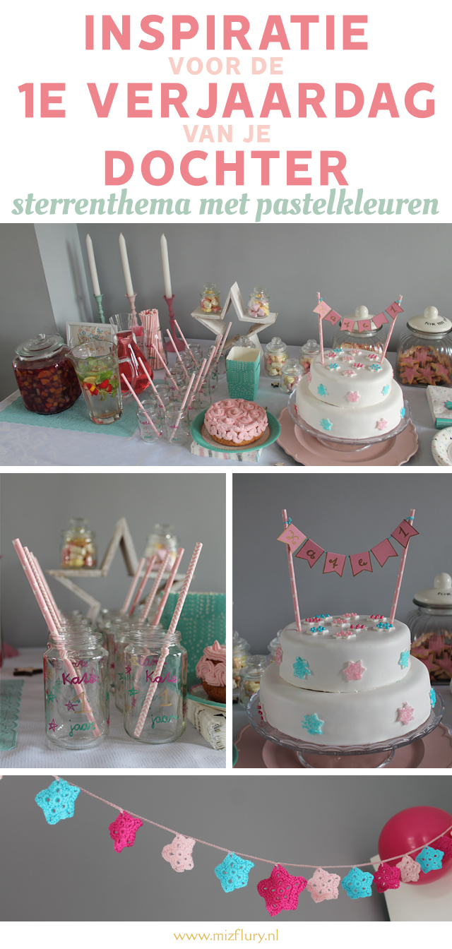 inspiratie eerste verjaardag dochter