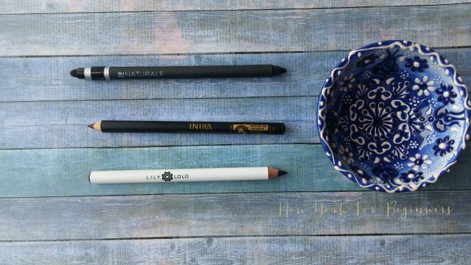Au Naturale, Inika and Lily Lolo natural eye pencils at The Choosy Chick