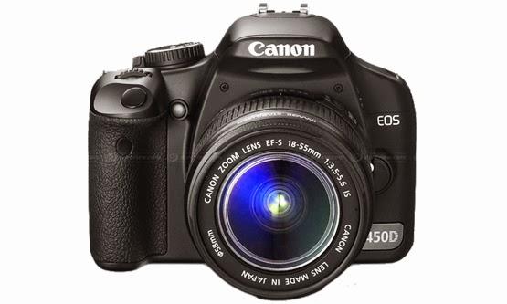 Harga dan Spesifikasi Camera Digital SLR Canon EOS 450D Terbaru