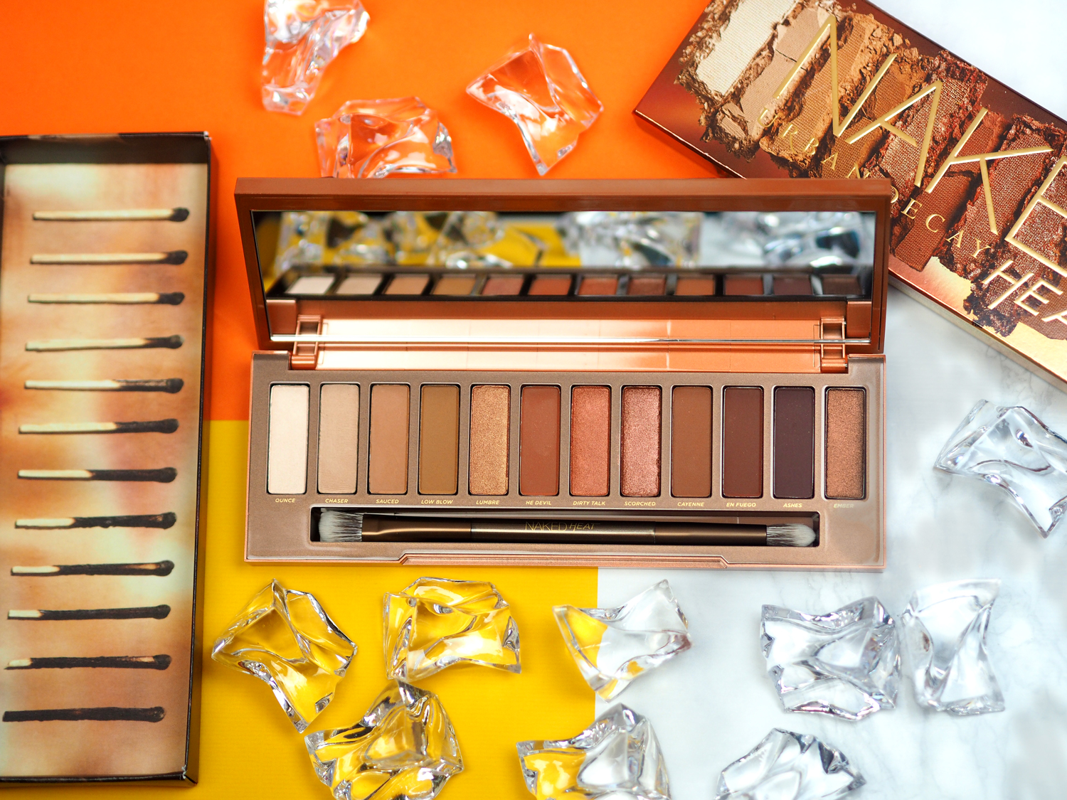 Urban Decay Naked Heat Palette First Impressions Swatches