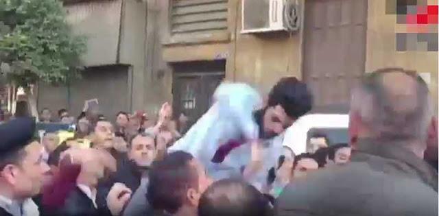 فيديو ضرب احمد موسى اليوم
