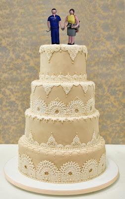 maqueta personalizada regalo de boda regalo novios muñecos tarta de boda