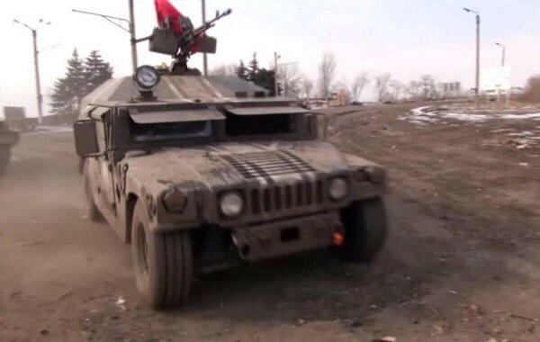 HMMWV M1097A2 ЛНР