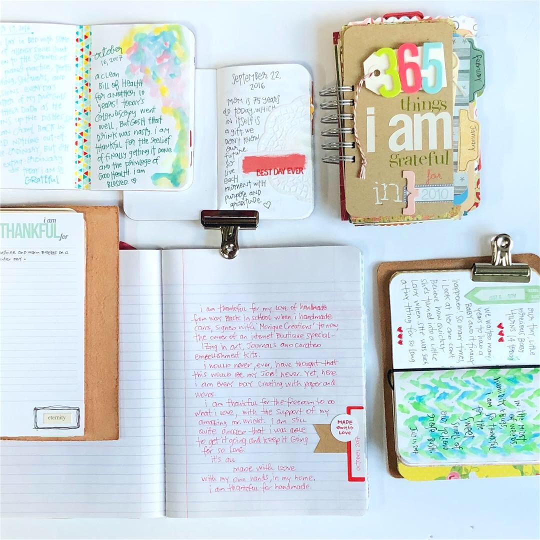 #Gratitude Journal #Gratitude #Grateful #Journal #Things I Am Thankful For #365 Things #Today  #Travelers Notebook