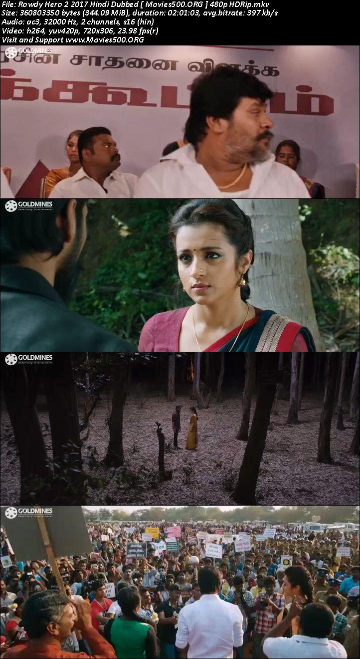 Rowdy Hero 2 2017 Full Movie 300MB Hindi Download 338MB at movies500.site