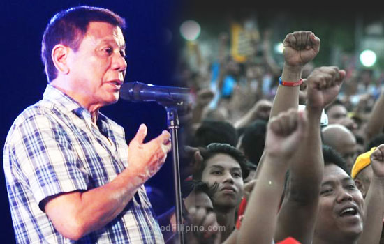 Duterte won't allow media on thanksgiving party in Cebu City