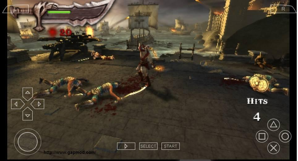 God of War Chains of Olympus PSP ISO