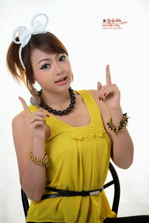 Nang Khin Zayar - Yellow Fashion