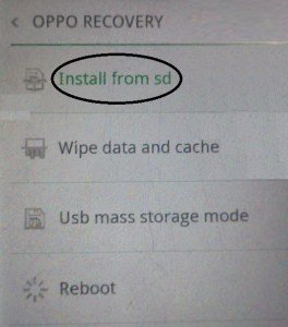 Cara Flash Oppo A31T