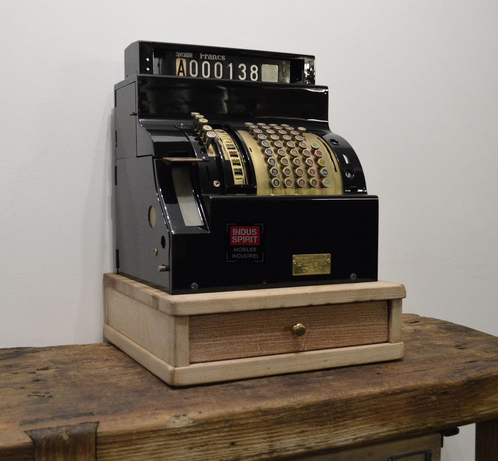 Préférence Ancienne caisse enregistreuse National RU23
