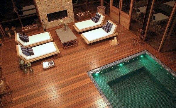 Desain Kolam Renang Indoor Modern