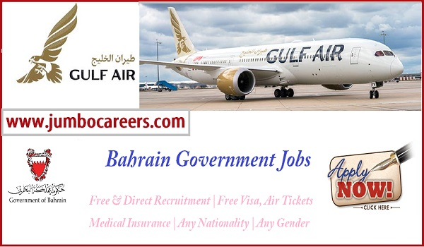 Latest Jobs and careers at Gulf Air, Air port job vacancies in Bahrain,