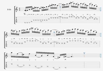 Raking (continuation) and Sliding Licks