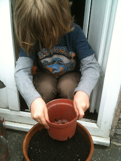 gardening, gardening with children