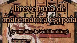 cabecera matemática egipcia