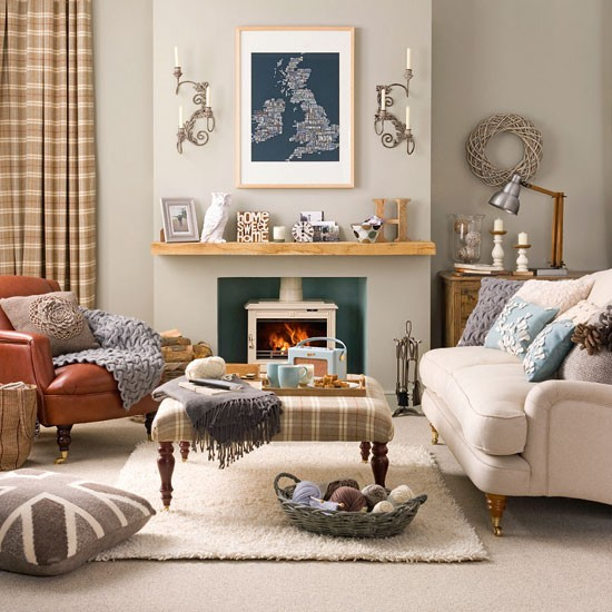 Traditional Living Room: David Dangerous: Traditional Living Room
