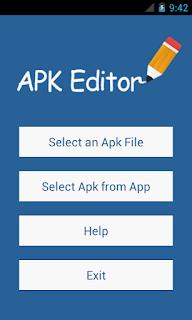 APK Editor v1.0.4 Mod Apk Update 2016