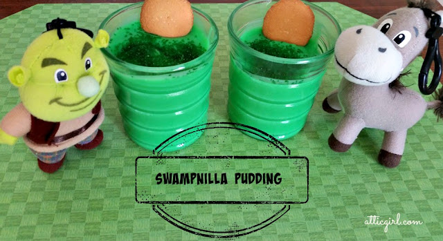 Swampnilla Pudding Recipe