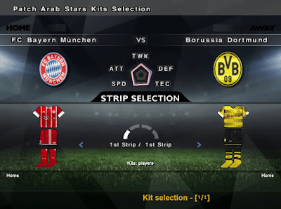 PES 6 Patch Arab Stars 2017 Season 2017/2018