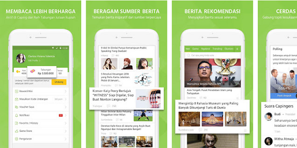 Aplikasi Caping Android