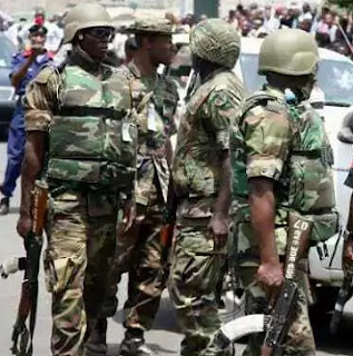 Bloody Weekend As Unknown Armed Bandits Opens Fires On Troops, Kill 11 Soldiers, 2 Missing