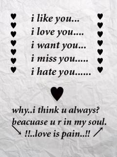 Love Wordings
