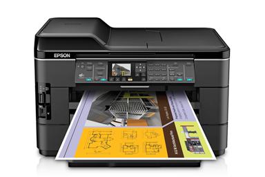 Download Epson WorkForce WF-7520 Drivers