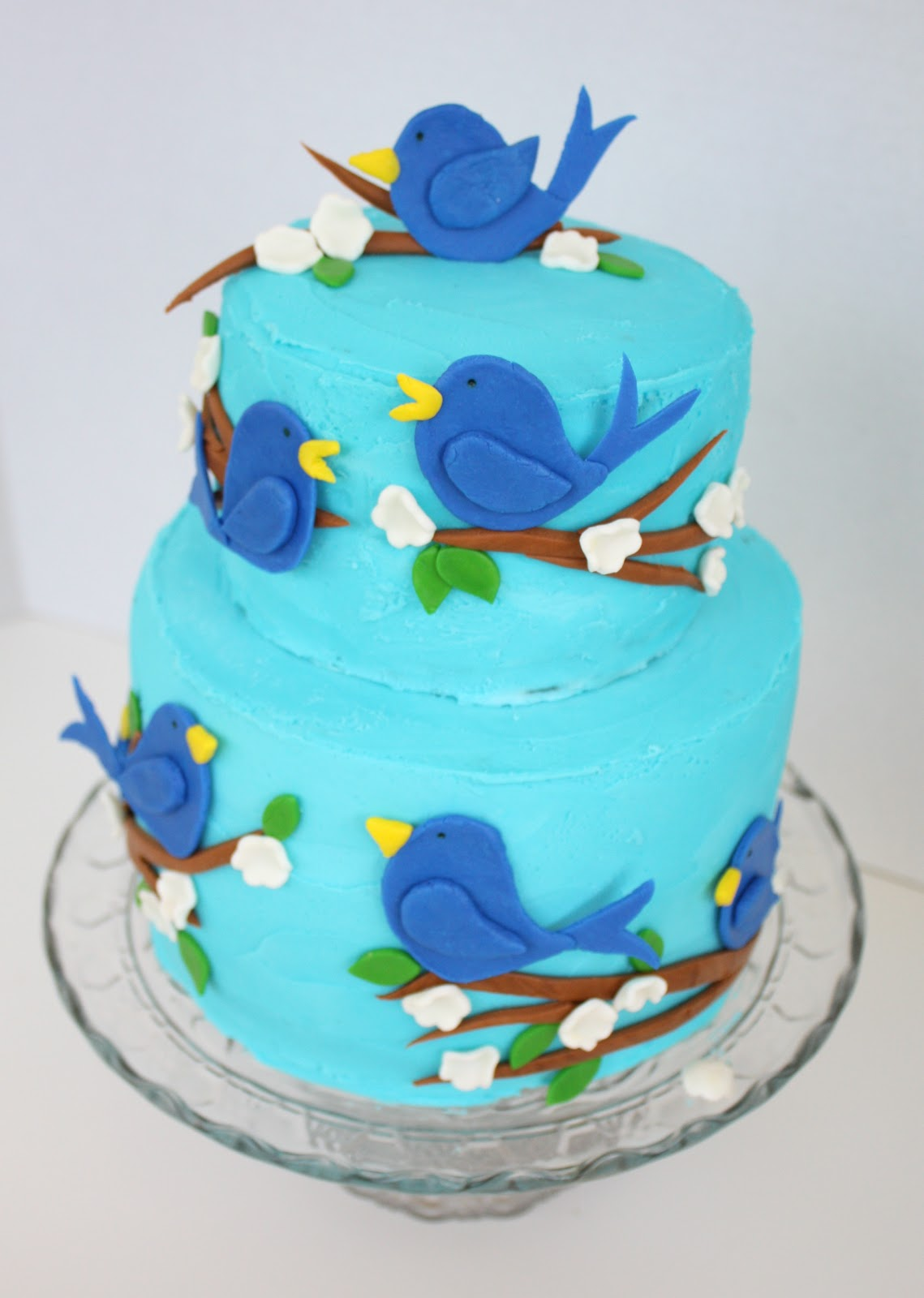 At Second Street Blue Bird Birthday