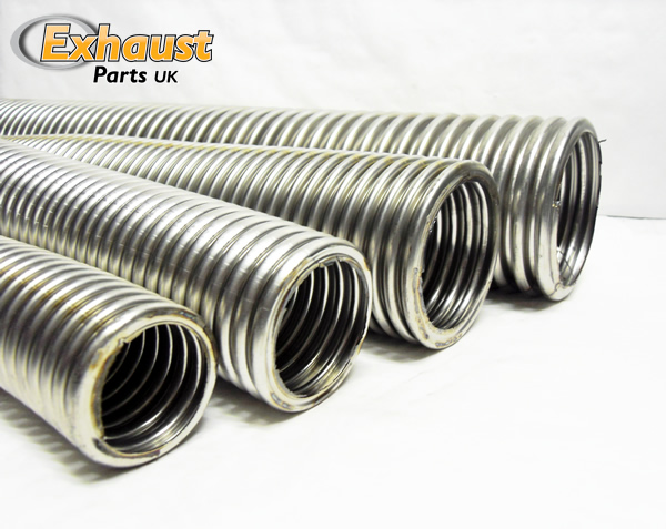 Stainless steel flexible exhaust pipe images