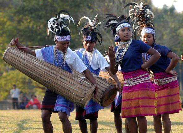 757fe62da4 Costumes of Garo , Khasi and Jaintia Tribes in Meghalaya