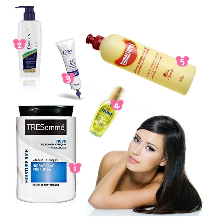 5 produtos baratinhos que vão deixar seus cabelos maravilhosos