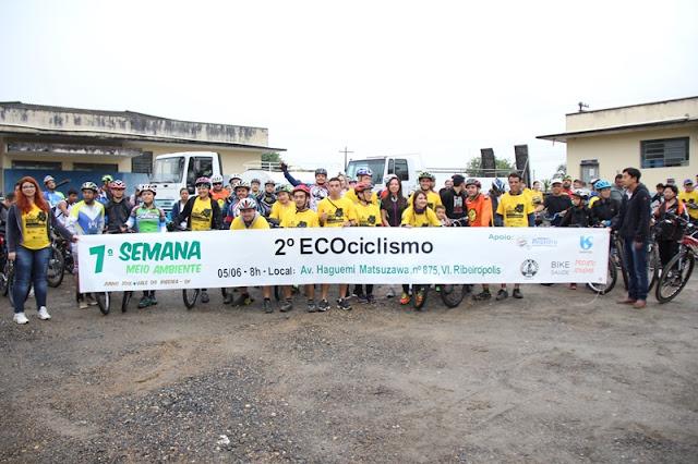 2º Ecociclismo é sucesso mesmo embaixo de chuva em Registro-SP