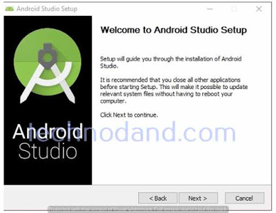 Cara installasi Android Studio 2.1.2 di windows 10