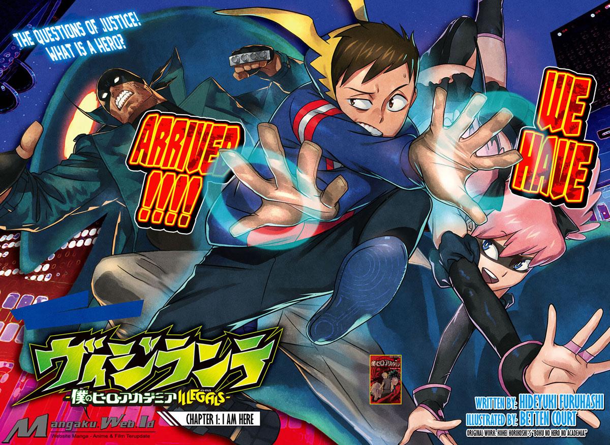 Baca Komik Vigilante: Boku no Hero Academia Illegals Chapter 3 Mangaku BacaMangaCa