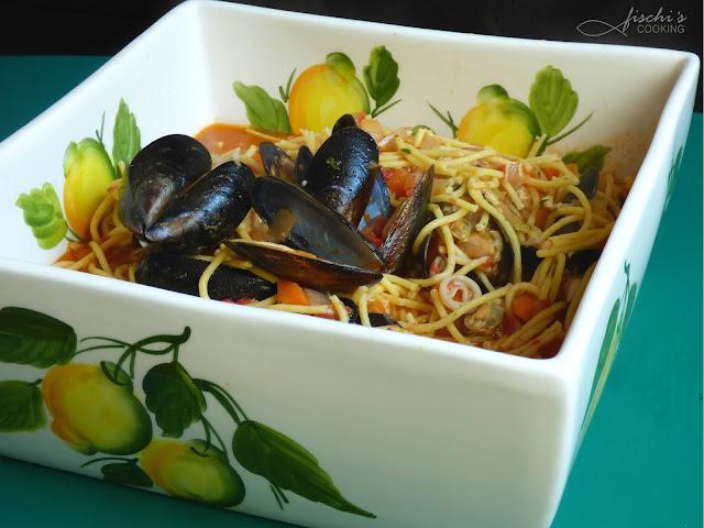 fischiscooking, spaghetti frutti di mare
