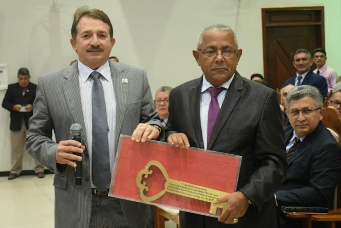 PREFEITO MAGNO BACELAR PRESTIGIA ABERTURA DO CHAPADINHA PARA CRISTO 2018