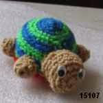 patron gratis tortuga amigurumi, free pattern amigurumi turtle