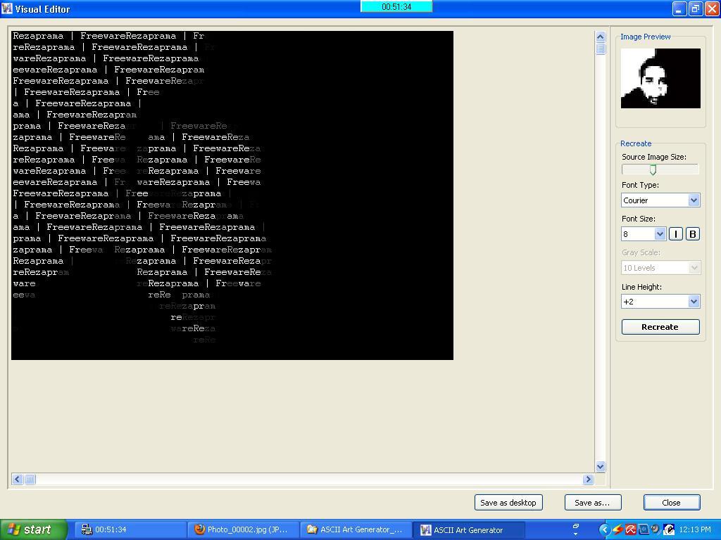 Download ASCII Art Generator 3 2 2 Full Version 2 Terbaru Full