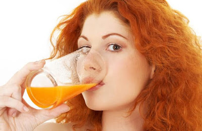 فوائد عصير الجزر للشعر