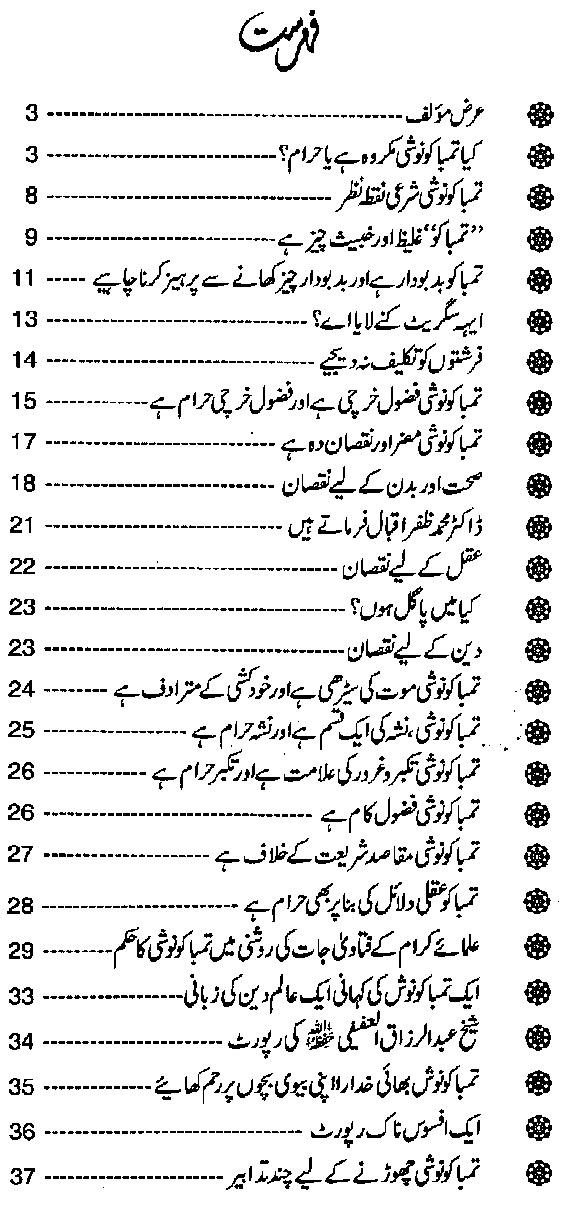 Can Muslims Smoke in Urdu PDF Book