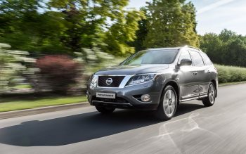 Wallpaper: Nissan Pathfinder 2015